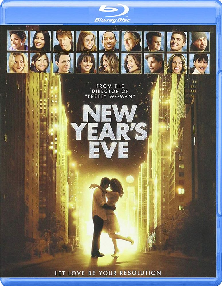 New Year S Eve Blu Ray 2011 New Year Eve Movie New Years