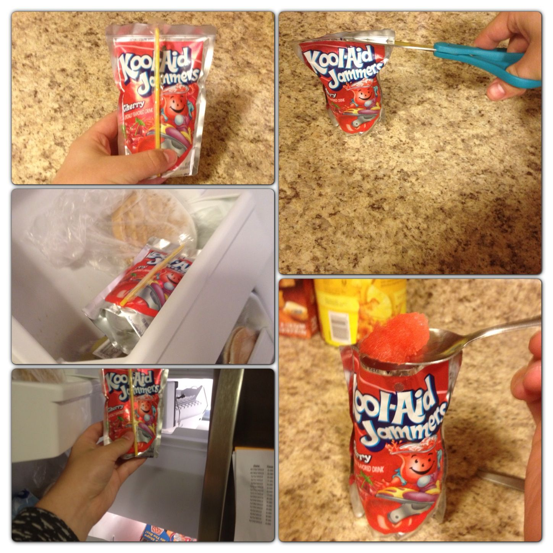 Frozen Kool Aid Jammer Kids Snacks Kids Meals Kool Aid