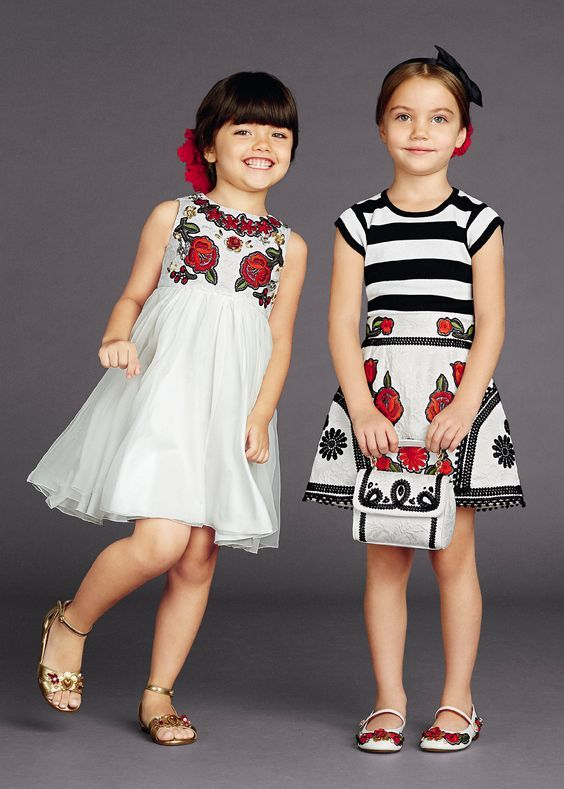 Детская мода 2017 года для девочек на фото. Детская мода ...