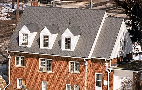 Click To View Full Size Image Metal Shingles Roof Architecture Metal Roof House Roof