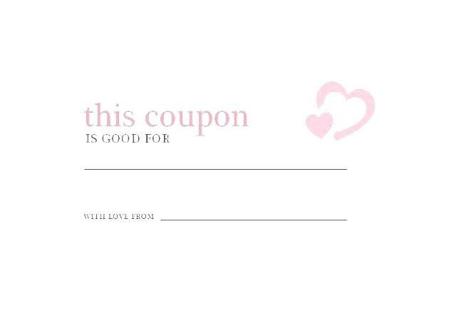 make your own coupon template lovely free printable