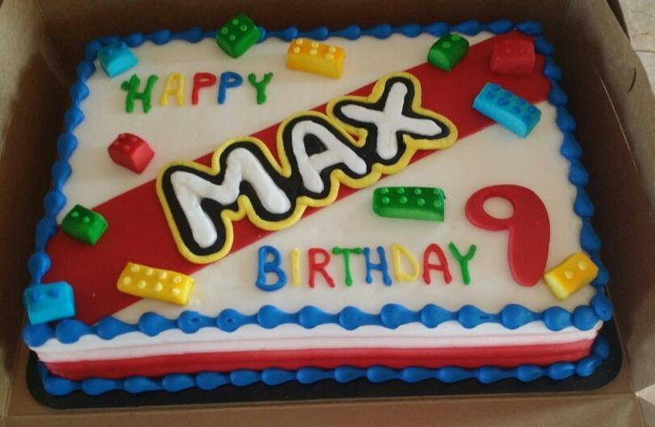 Birthday Cake Ideas Lego ~ Lego sheet cakes google search cakes lego cake