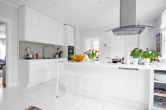 La cocina es lo importante cocina n rdica con pen nsula - Cocinas con peninsula ...