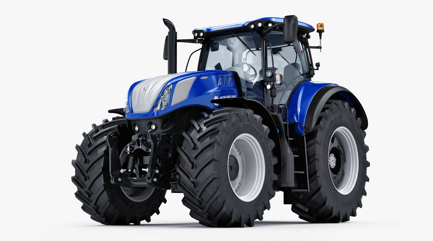 3d Agricultural New Holland T7 Model In 2020 New Holland New