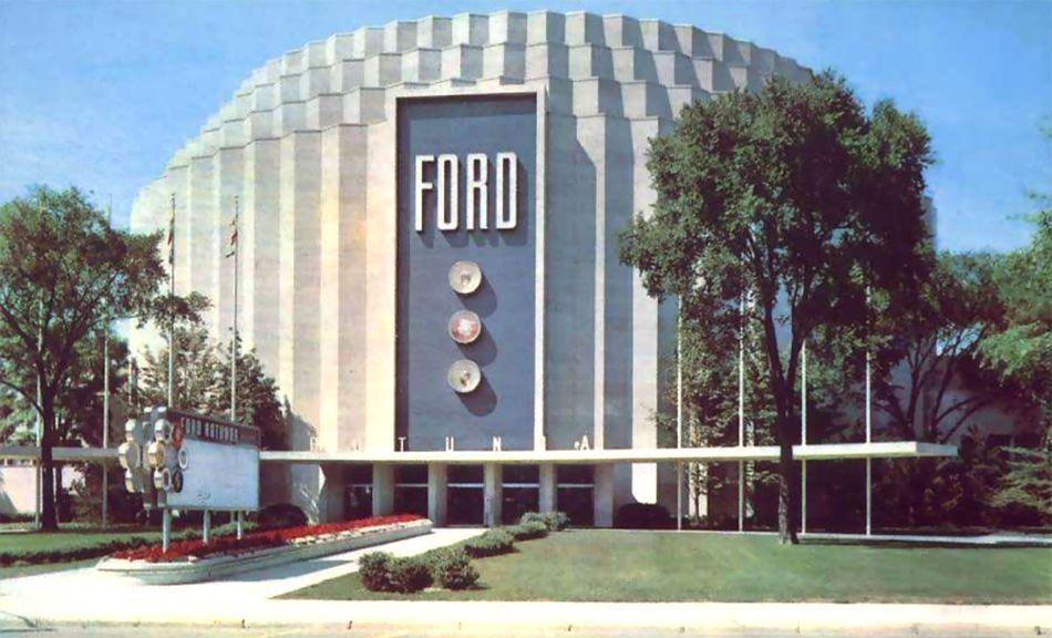 The Ford Rotunda Dearborn Michigan Dearborn Michigan