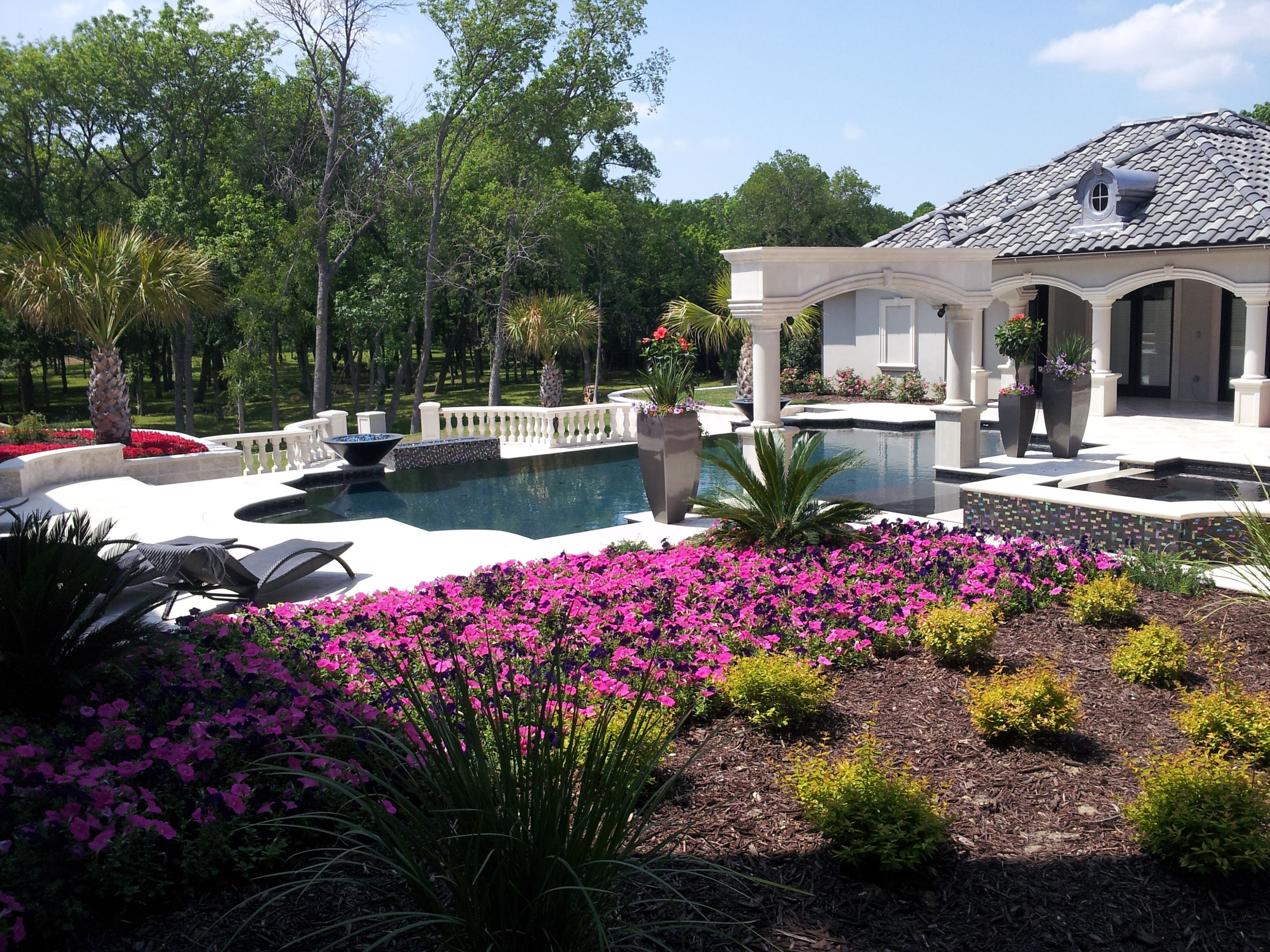Beautiful Landscape In Heath Texas Installed By Design Masters Landscaping Landscape Projects Design Master Beautiful Landscapes