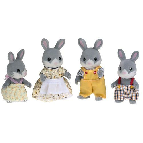 Calico critters cottontail rabbit family set would be cute for calico critters cottontail rabbit family set international playthings toys r us negle Images