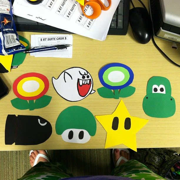 courtneyann418: super mario bros door decs | RA Life | Door