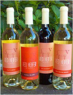 Red Heifer Winery Smithsburg Md Wine Bottle Wine Time Wines