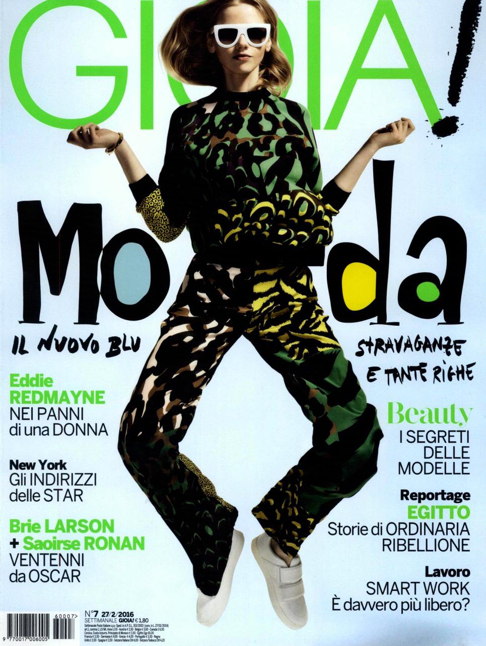 #VersaceEditorials - Energetic glam. Gioia Italy - February '16 #Versace Stylist: Monica Curetti Photographer: Marco La Conte
