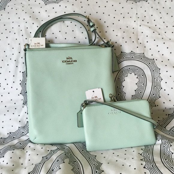 c8609bf4a7 discount code for mint green coach purse cc43b 2731e