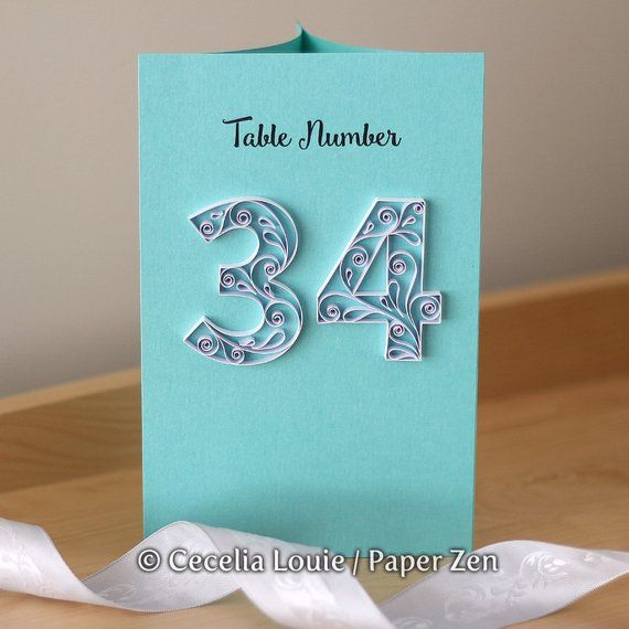 Quilling Numbers E-book, 13 Patterns And Templates For How