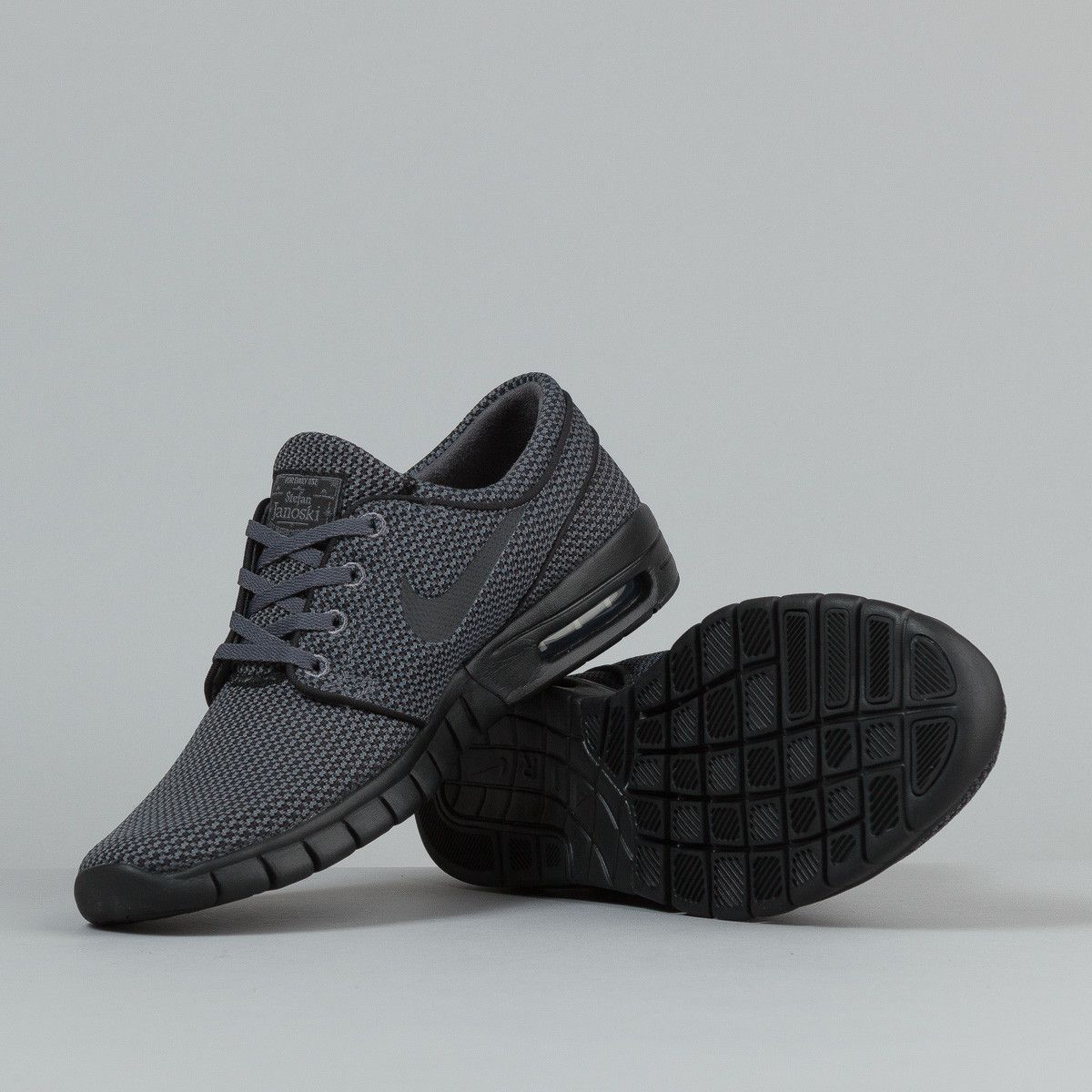 pretty nice 4f097 18600 Nike SB Stefan Janoski Max Shoes - Dark Grey   Black