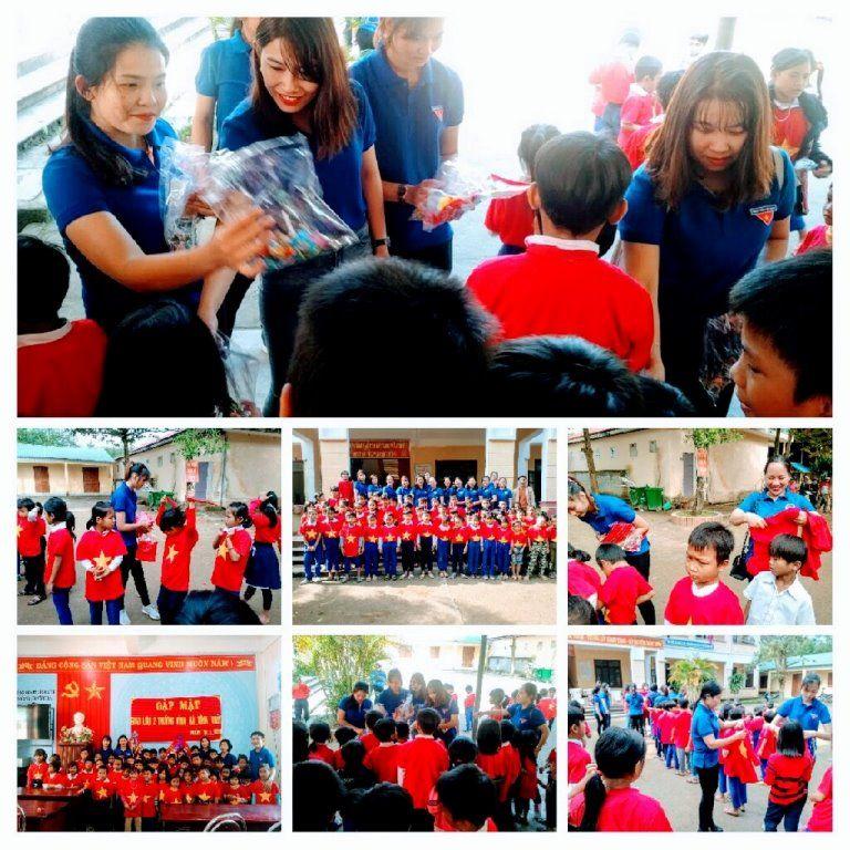 Áo cờ đỏ sao vàng trường tiểu học Vĩnh Thủy - Hình 1