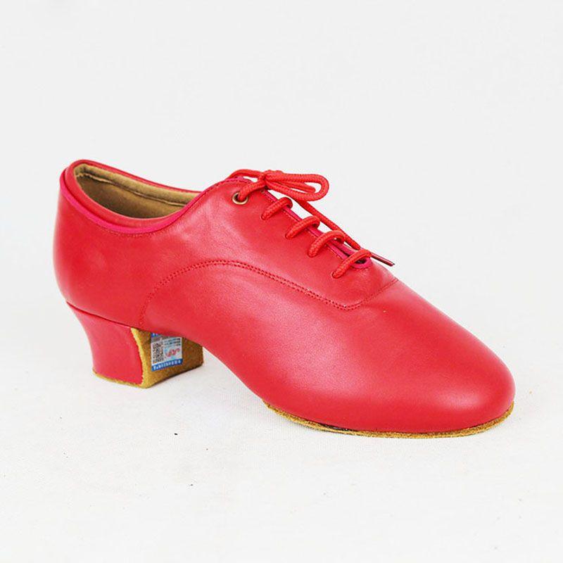 Men Latin Dance Shoes BD Dance 417 Red
