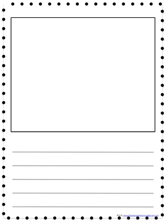 Search Kindergarten smorgasboard, Kindergarten and Literacy - elementary lined paper template