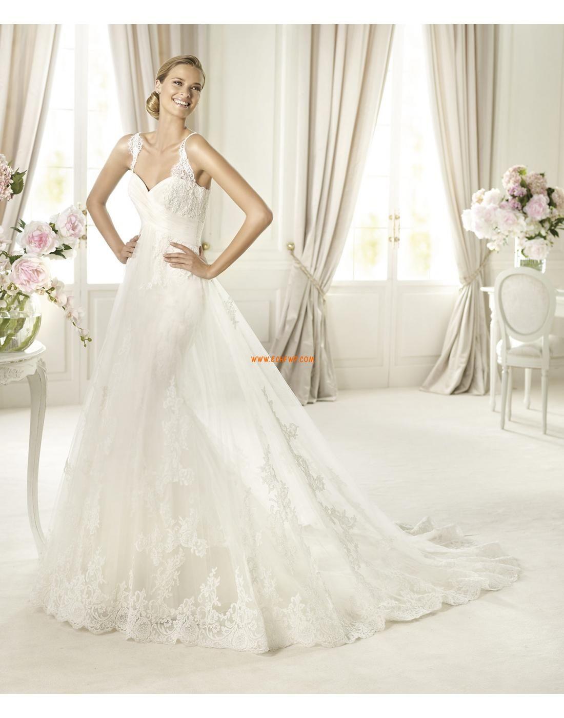 Princess-Stil 3/4 Arm Natürlich Brautkleider 2014 | Brautkleid ...