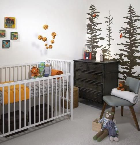 Nature Themed Nursery, Natural