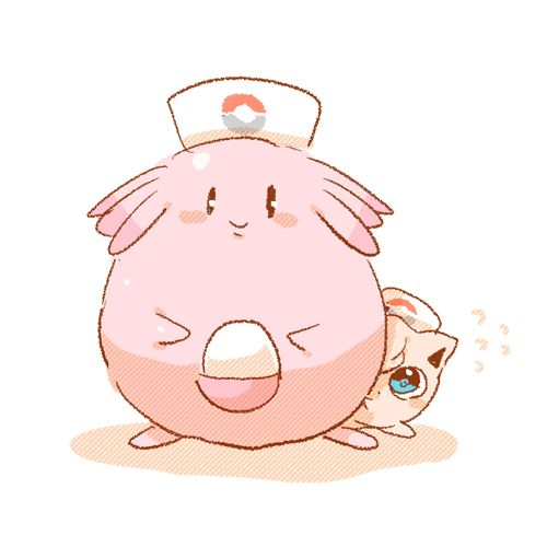 Chansey and Jigglypuff Pokemon Normal-Type Pokémon, Pokemon
