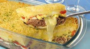 Saboroso Gostinho: Torta de pão de fôrma