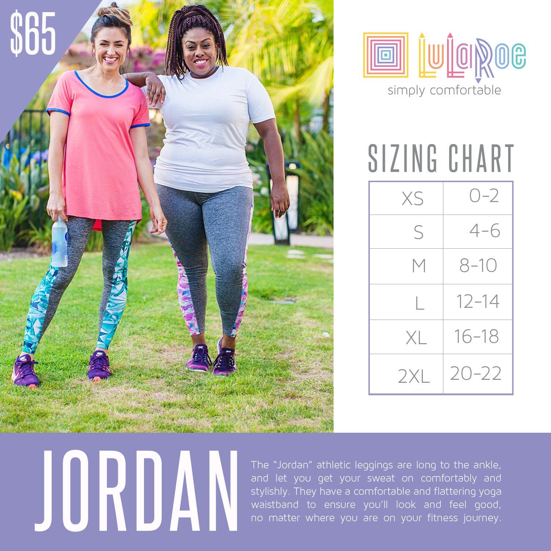 2cbafcedeeecc3 LuLaRoe Jordan workout legging | LuLaRoa | Lularoe sizing, Lularoe ...