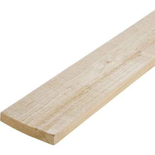 Planche Sapin Petits Noeuds Brut 25 X 150 Mm L 2 4 M Planche Sapin Sapin Brut