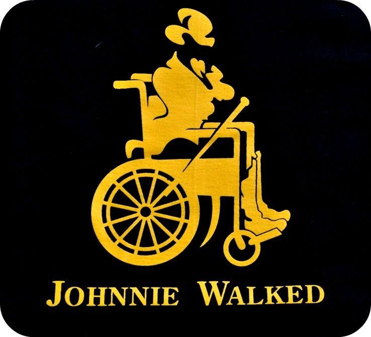 Johnnie Walker Parody Logo Johnnie Walked Funny Logos