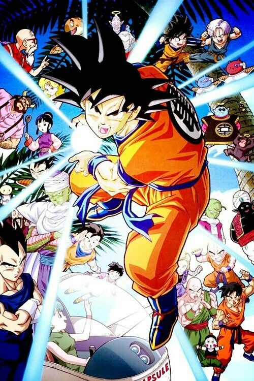 Tv series dragon ball z 1996 2003 genre action - Dbz fantasy anime ...