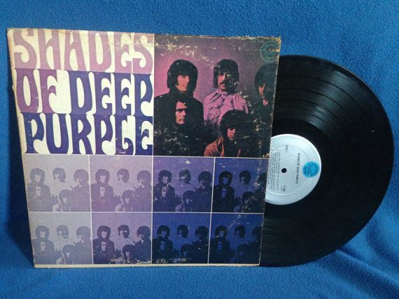 Rare Vintage Deep Purple Quot Shades Of Quot Vinyl Lp Debut