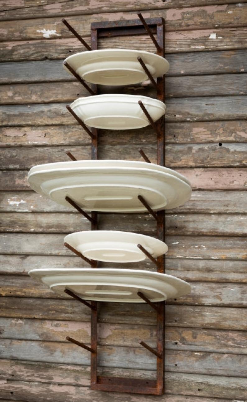 Farmhouse Plate Display