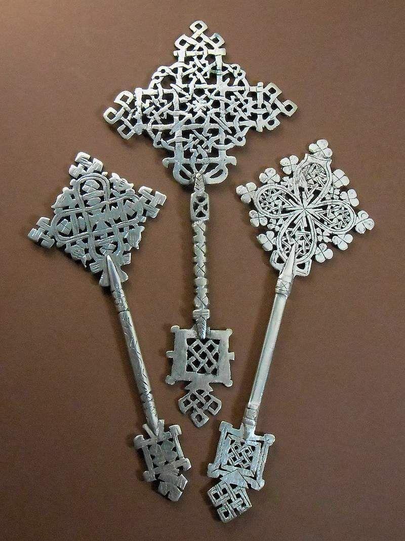 3 x Ethiopian Coptic Hand Cross Orthodox Church African Art Christian Ethiopie | eBay