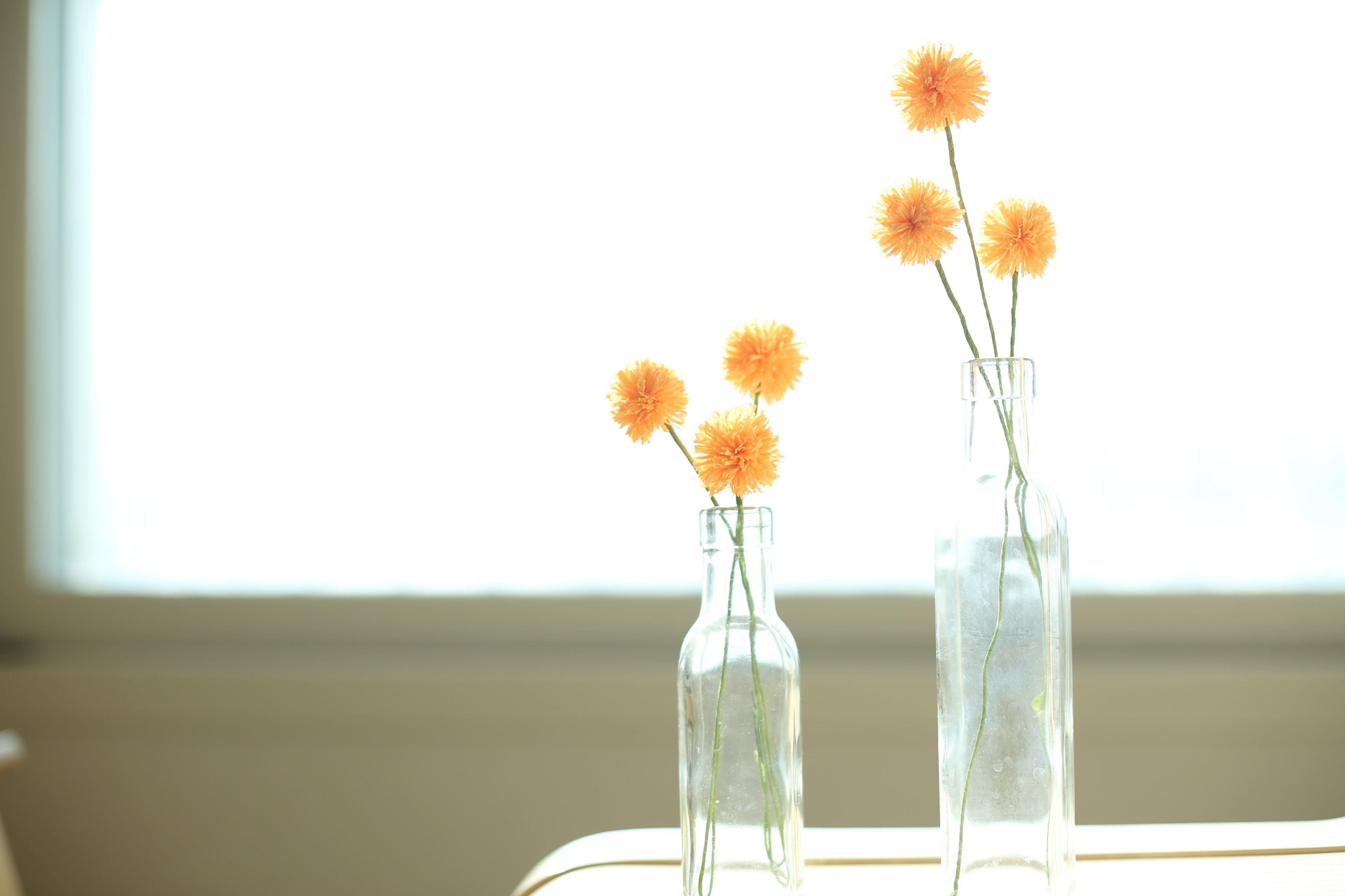 How to make paperflowers craspedia globosa golden ball paper
