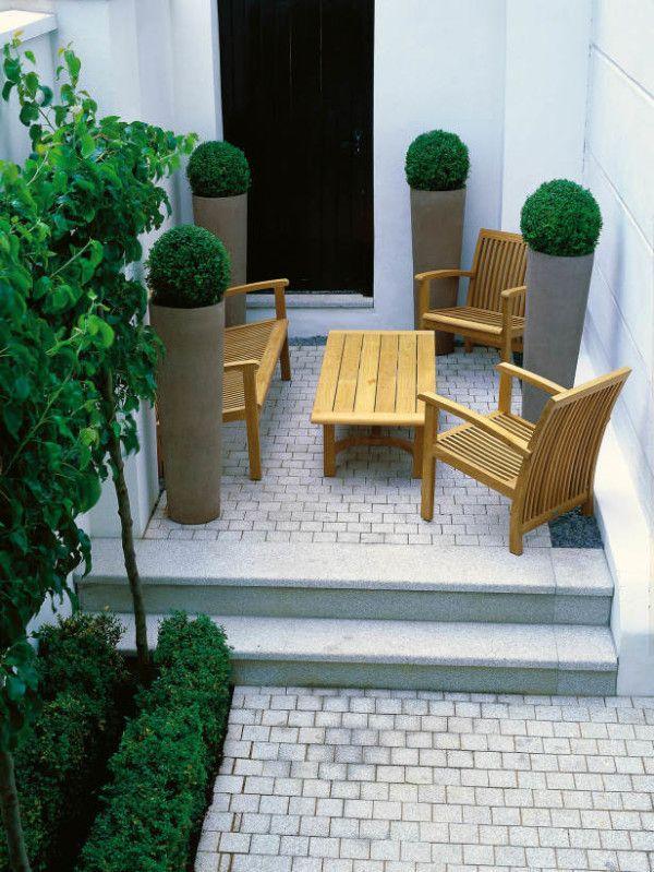 Ideas para dise ar un peque o patio ideas jard n patios jardiner a y jardines peque os - Disenar un jardin pequeno ...