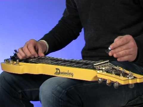 Duesenberg Pomona 6 Lap Steel Guitar Steel Guitar Youtube