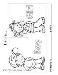 Resultado De Imagem Para Boy And Girl Worksheet Atividades Em