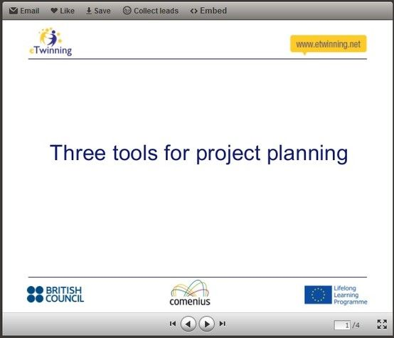 Three Tools for Project Planning http\/\/wwwslidesharenet - project planning