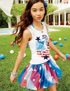 hey my bf Aercia wore that on flag day