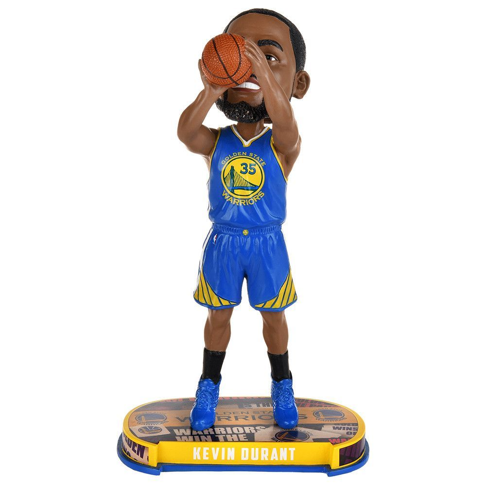 3fbdf00c7869 Kevin Durant (Golden State Warriors) 2017 NBA Headline Bobble Head by  Forever Collectibles