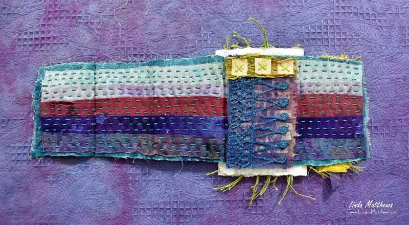 Creative Stitch Alchemy MiniJournal Unfolding Putting