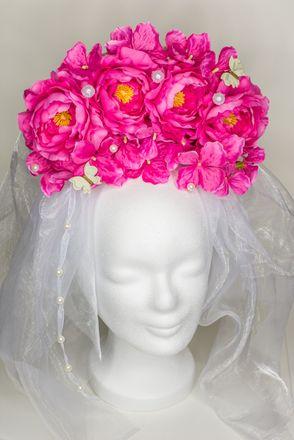 Headpiece *Rosa Blütentraum*