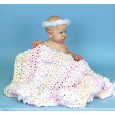 Mary Maxim - Free Baby Monet Blanket Crochet Pattern - Free Patterns ...