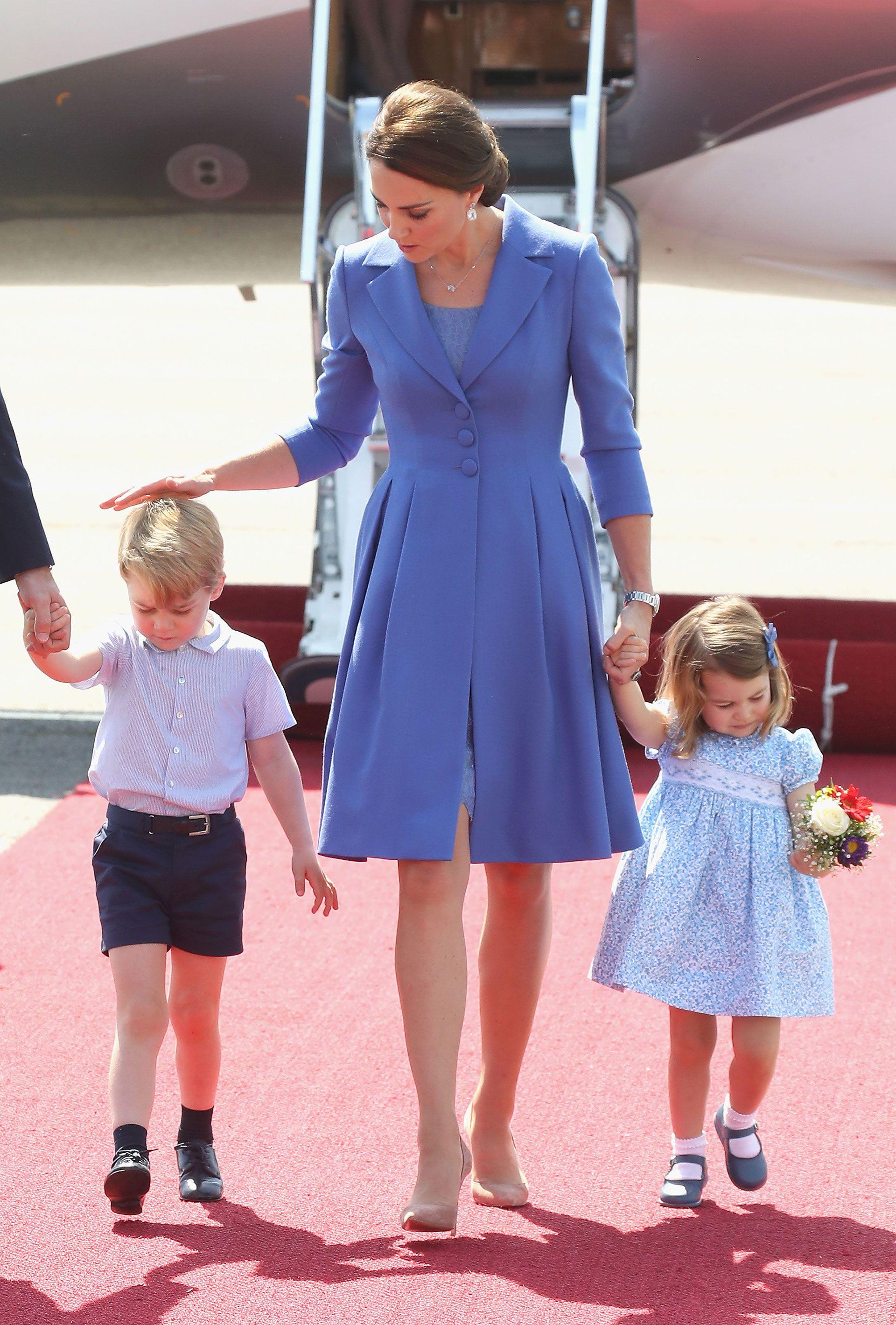 Bonito Vestido De La Dama De Honor De Kate Middleton Foto - Vestido ...