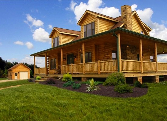 8 LowCost Kits for a 21stCentury Log Cabin Log cabin