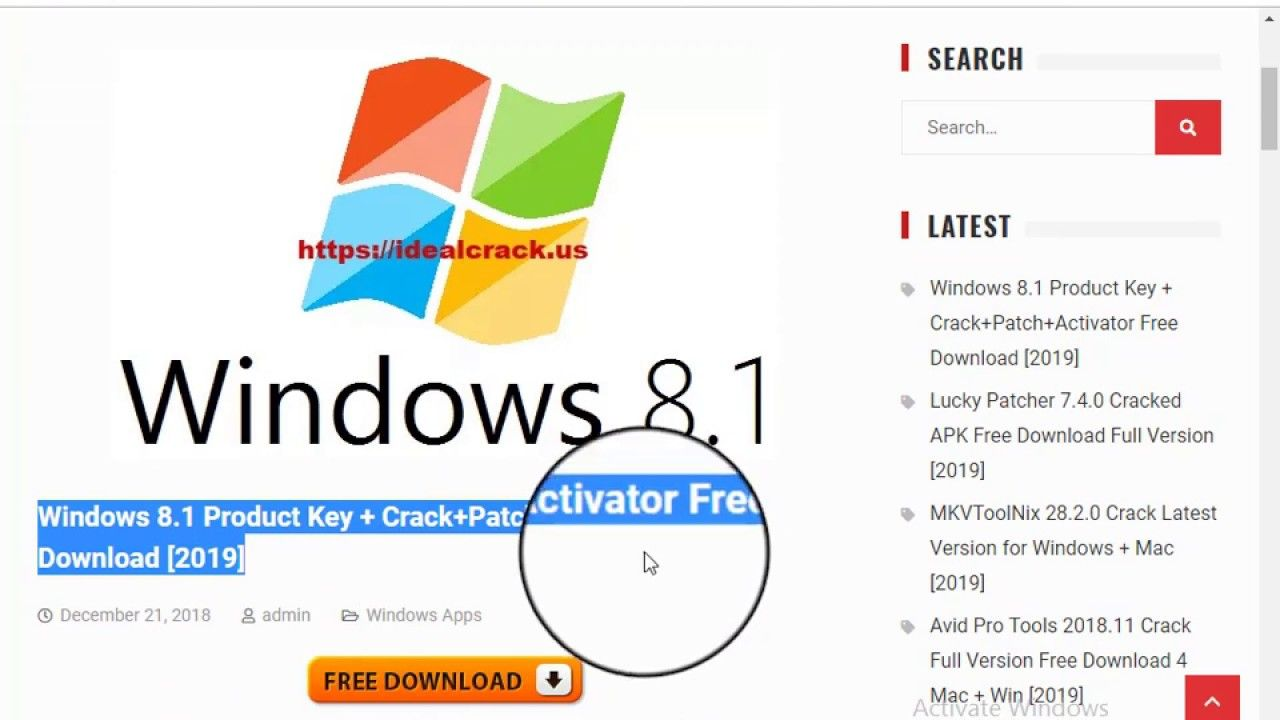 download windows 8.1 product key free