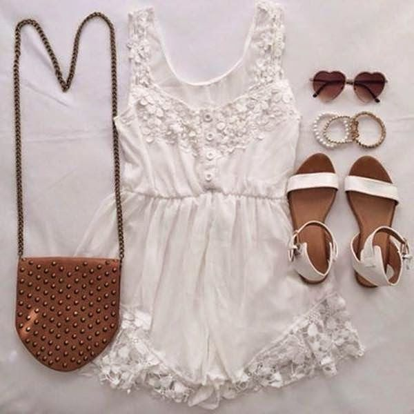 How to Chic: ANGEL ROMPER - OUTFIT SET