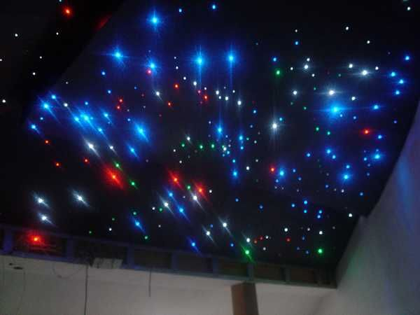 Marvelous Contemporary Ceiling Designs With LED Lights For Romantic Modern Kids Room  Decorating