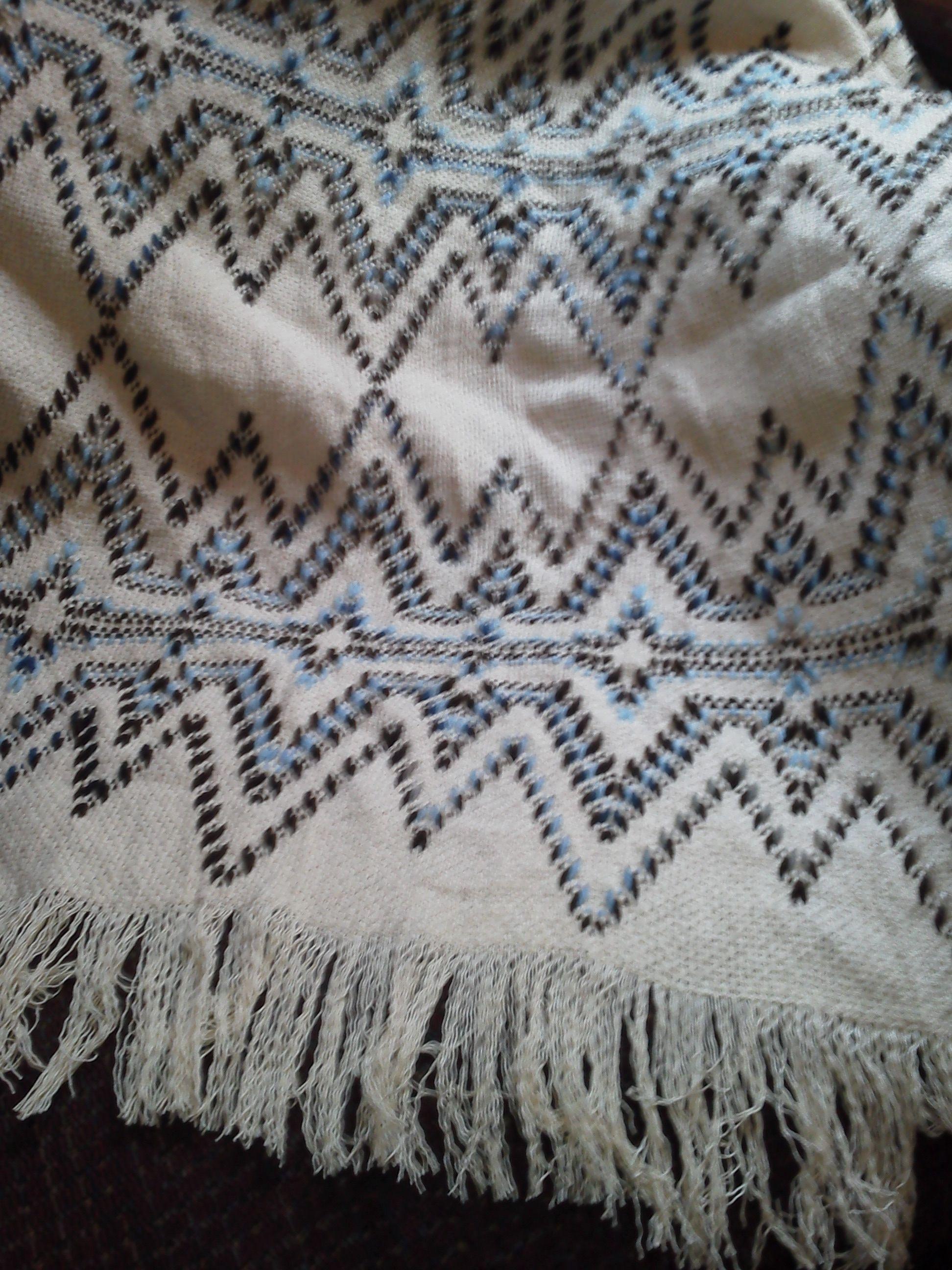 Todd and Kim's Afghan up close Swedish Weaving, Darning, Tulum, Weave,  Needlework