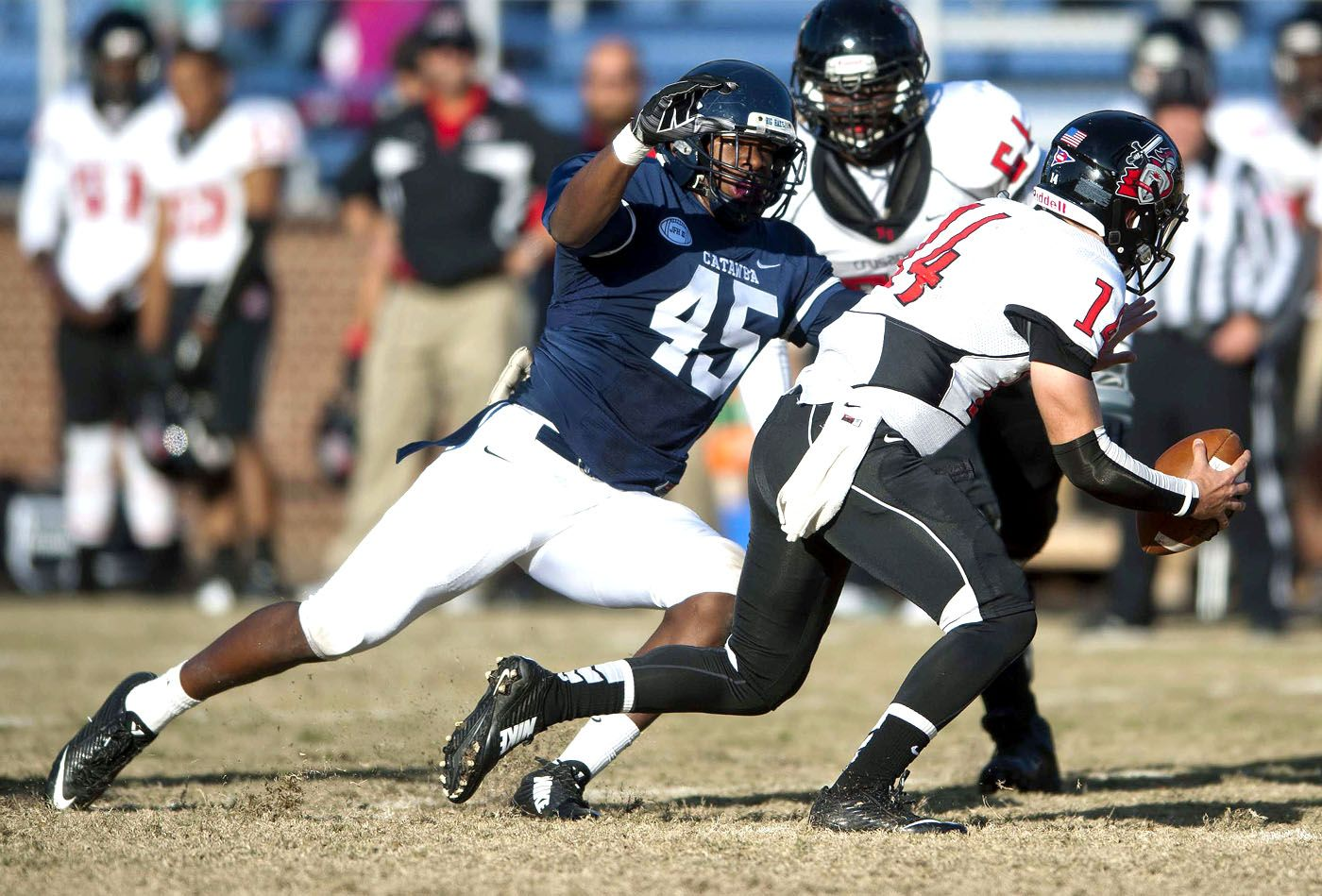 Catawba Football Kitchens steps into starring role