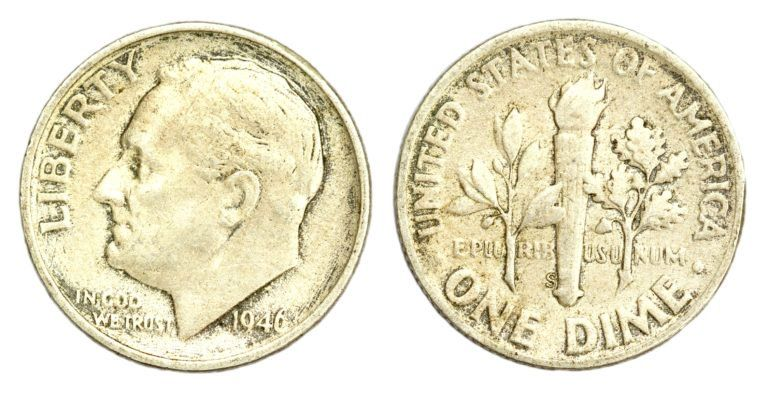 Roosevelt Dime Value Guide See How Much Roosevelt Dimes 1946