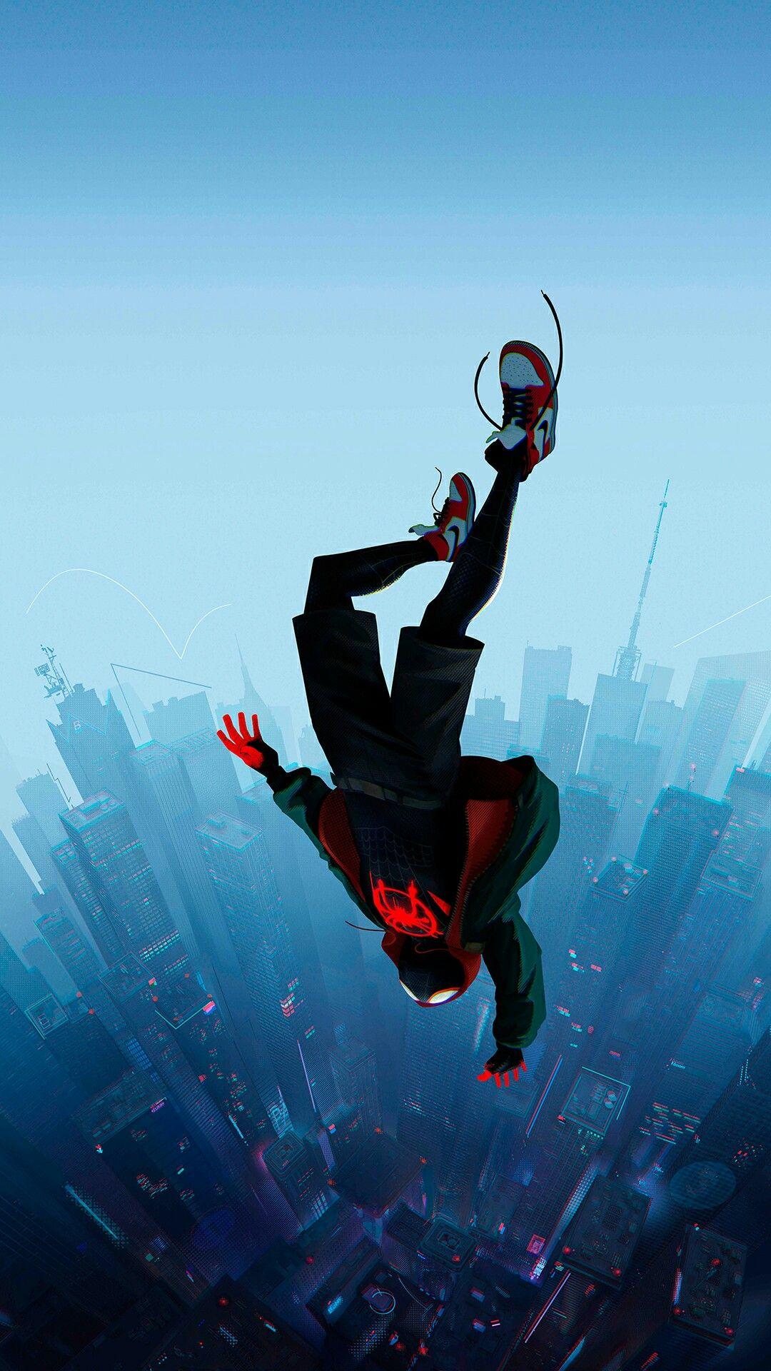 Spiderman Enter the Spiderverse Marvel wallpaper